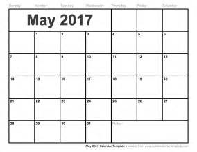 blank month calendar template blank may 2017 calendar weekly calendar template