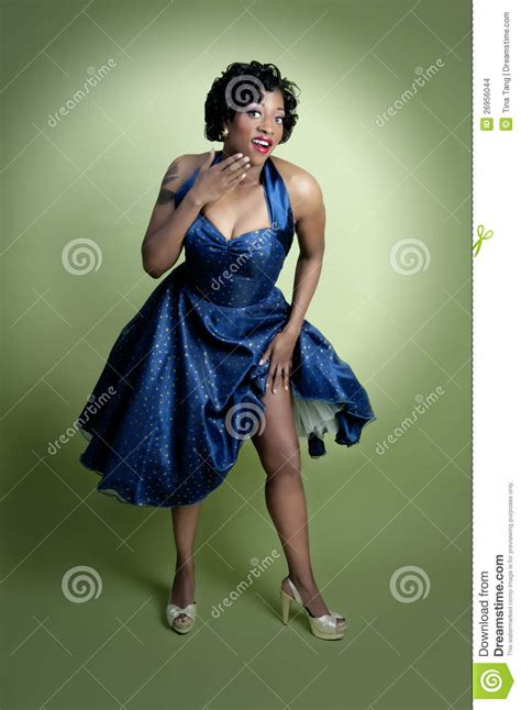 pin up for african americans african american pinup model stock images image 26956044