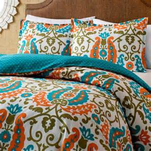 orange cotton comforter sets overstock shopping new