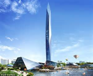 Tower Infinity Tower Infinity South Korea S Invisible Skyscraper Uses