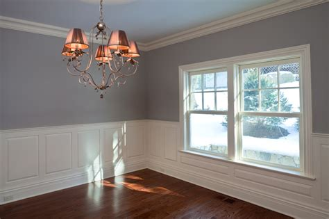 Wainscoting Raised Panel by Raised And Recessed Panel Wainscoting Wainscot Solutions