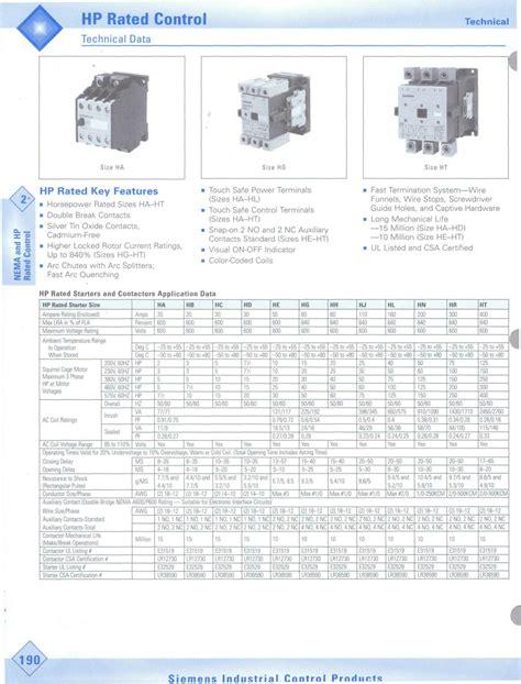 wiring diagram contactor siemens datasheet free