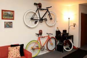 indoor bike storage and bedroom decorating ideas in black 18 cool indoor bike storage racks for your walls