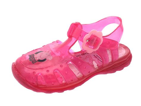 jelly sandals size 3 pink glitter peppa pig jelly sandals jellies
