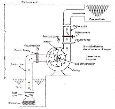 schematic diagram of centrifugal lab manual principle of working of centrifugal