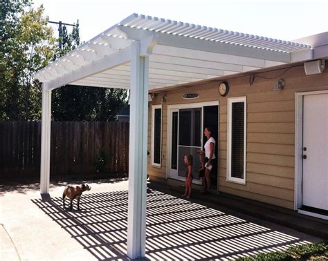 Aluminum Covered Patios by Best 25 Aluminum Patio Covers Ideas On