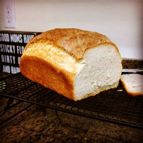 Loaf Handcrafted Breads - basic handcrafted white bread gazing in