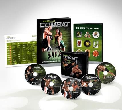 les mills combat and exciting program bonuses included