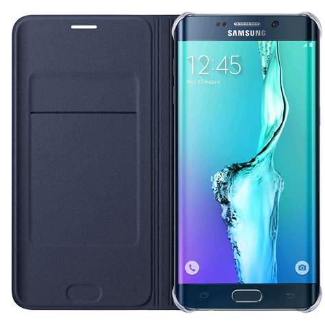 samsung flip wallet for samsung galaxy s6 edge blue
