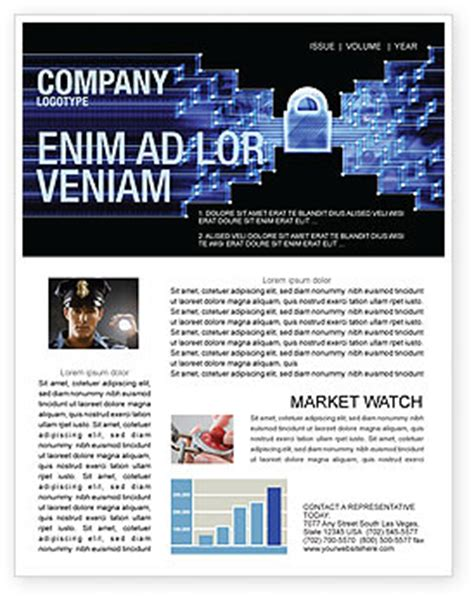 Data Safety Newsletter Template For Microsoft Word Adobe Indesign 05887 Download Now Safety Newsletter Template