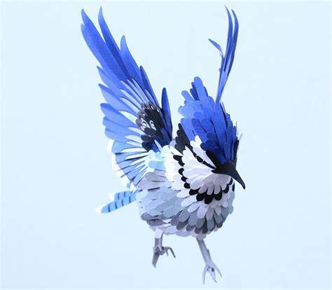 paper bird sculpture paper bird sculptures by diana beltran herrera