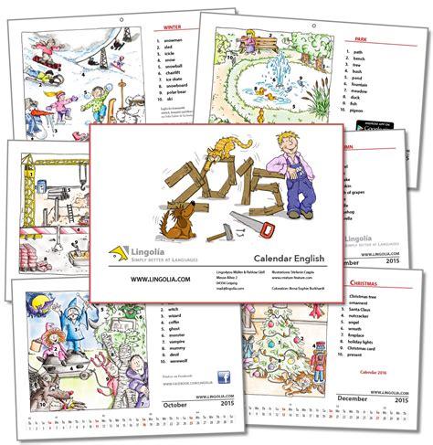 Calendario Can 2015 Calendar 2015 Lingolia