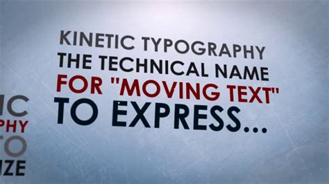 Free Kinetic Typography After Effects Template 2015 Kinetic Typography After Effects Template Free