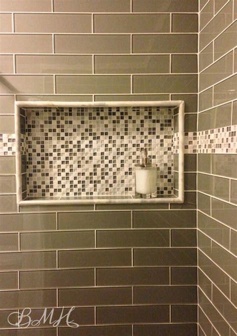 Shower Niche Glass Shelf by 25 Best Ideas About Shower Shelves On Shower