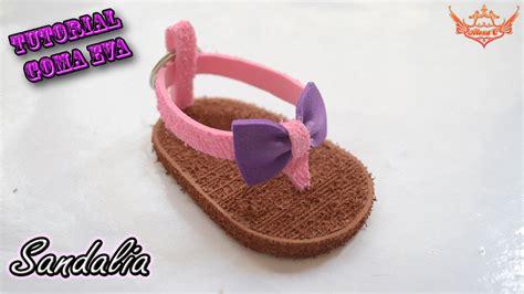 como aser sandalia para bebes con goma eva tutorial sandalia o chancla de goma eva foamy youtube
