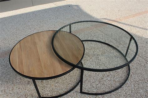 Table En Fer Industriel by Table Basse Fer Industriel Le Bois Chez Vous