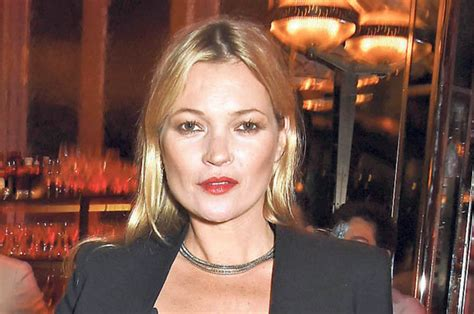 What Is That White Powder On Kate Moss by Kate Moss The Model Was Seen With Mysterious White Marks