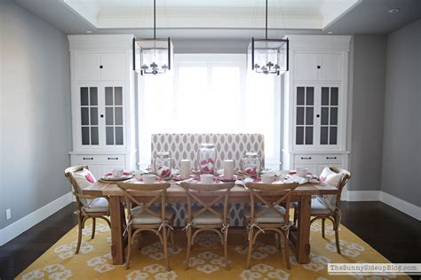 Formal Dining Room Built Ins S Tablescape And Organized Built Ins The
