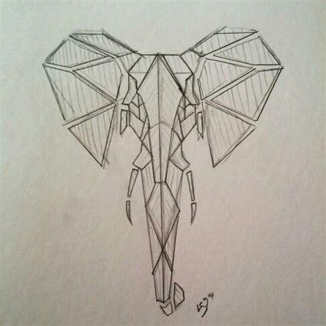 2017 trend geometric tattoo celtic owl check more at geometric elephant tattoo design ls9 original sketch
