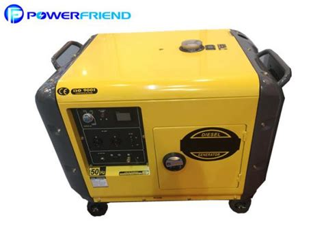 cheap home use 5kva 6kva diesel small portable generators