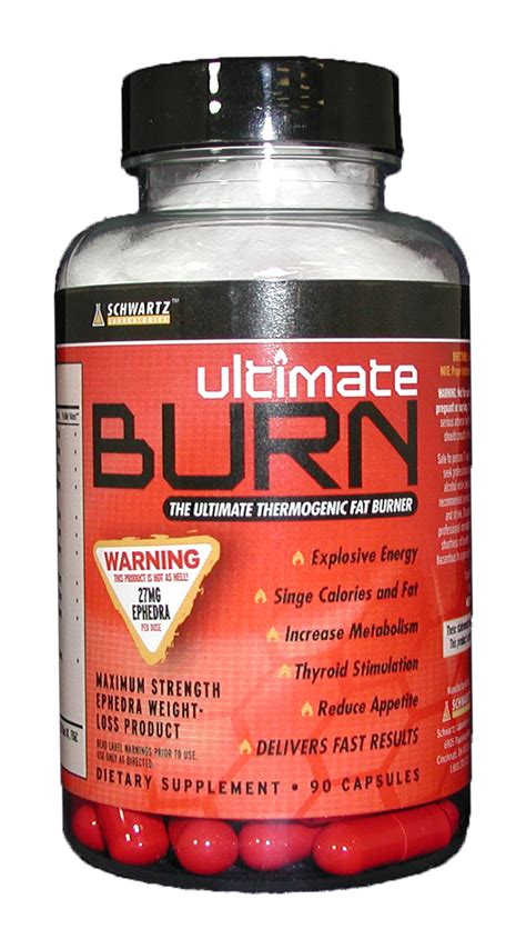 i supplements ephedra ultimate burn ephedra by schwartz labs burner for