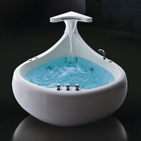 bathtub reviews 2012 the thalassor baleina whirlpool bath tub for a luxurious