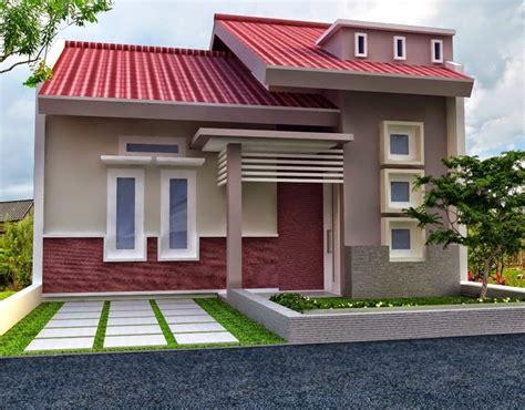 desain bagian depan rumah minimalis pilihan contoh warna cat rumah bagian depan renovasi