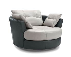 cecile leather armchair with 3 adjustable headrests