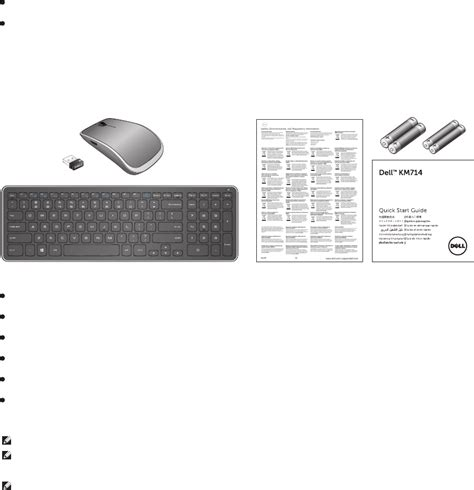 page 4 of dell computer keyboard km714 user guide manualsonline