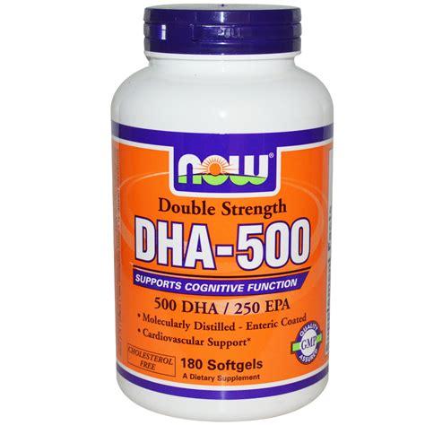 Dha Search Now Foods Dha 500 Epa 250 Strength 180 Softgels Iherb