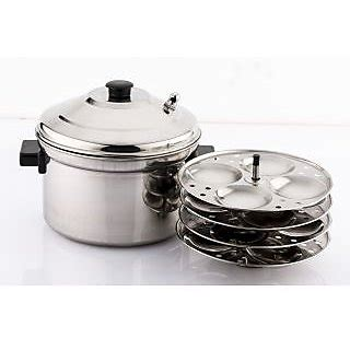 mahavir16pc idly cooker induction base in india