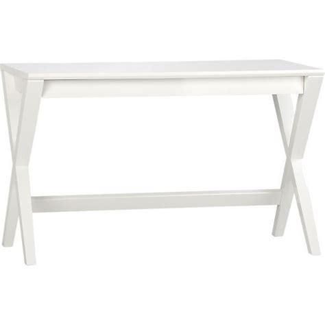 crate and barrel white desk spotlight white 48 quot desk i crate and barrel