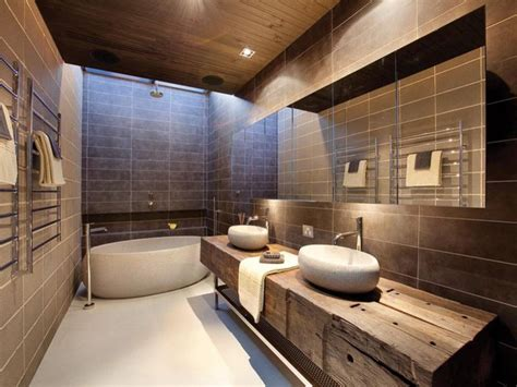 photos of bathroom designs rev 234 tements et meubles salle de bain bois massif et