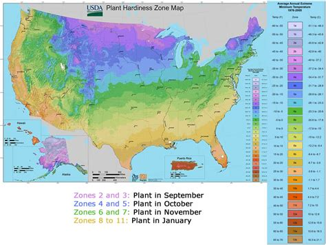 Zones For Gardening Map - journey north international plant study