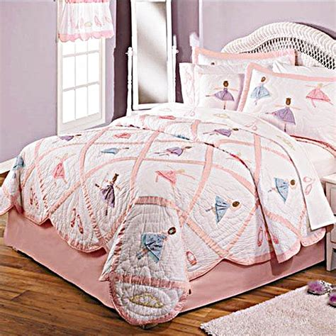 dance bedding recital ballerina quilt