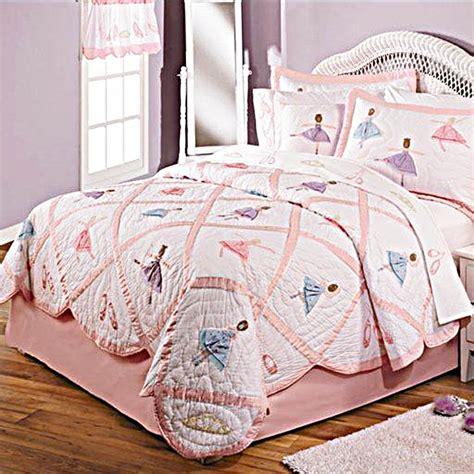 bedding catalog recital ballerina quilt