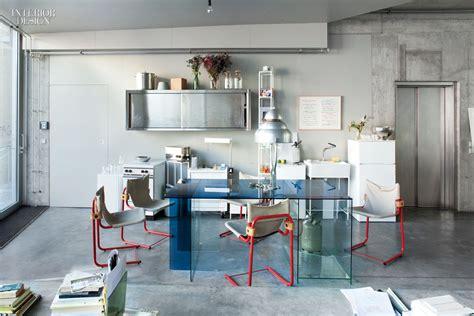 residential dining room placemats sam chermayeff s berlin loft is a living art installation