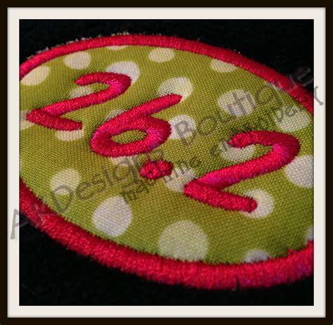 embroidery design boutique 2 pdf no 559 applique marathon and half marathon machine