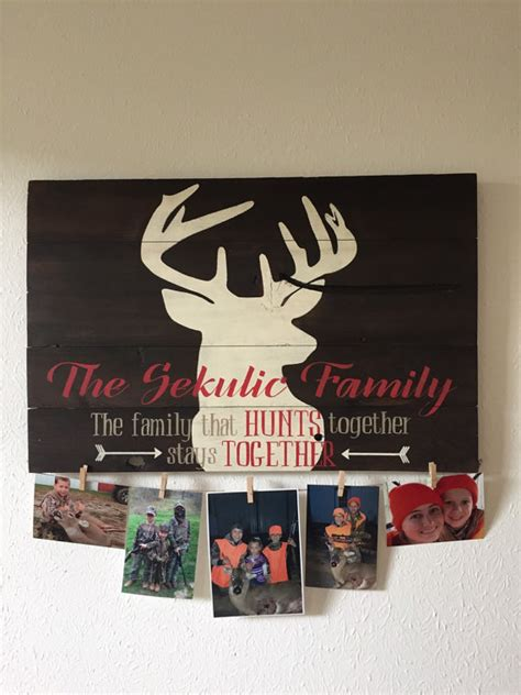 7 Great Gifts For Hunters by Great Gift For Hunters Deer Silhouette With Family By