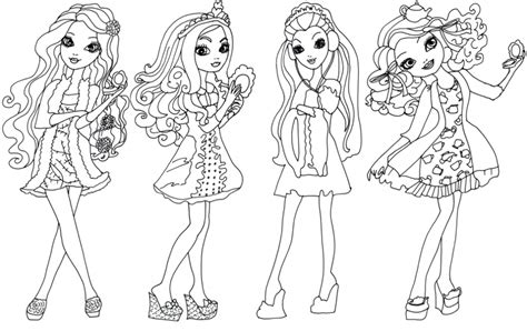 ever after high pet coloring pages ever after high desenhos para colorir imprimir e pintar da