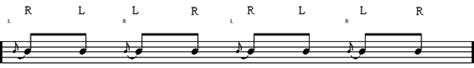 drum tutorial flam learn how to play the inverted flam tap drum rudiment