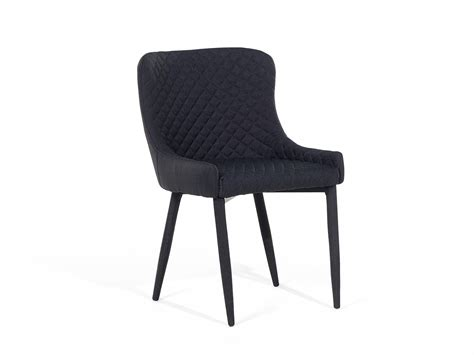 chair dining chair upholstered armless quilted black ebay