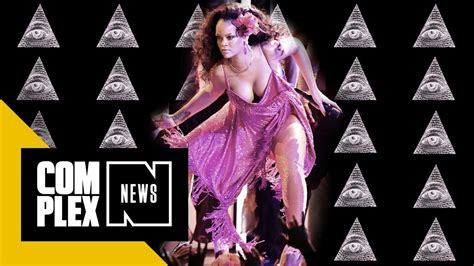 rihanna illuminati religious is convinced rihanna is part of the