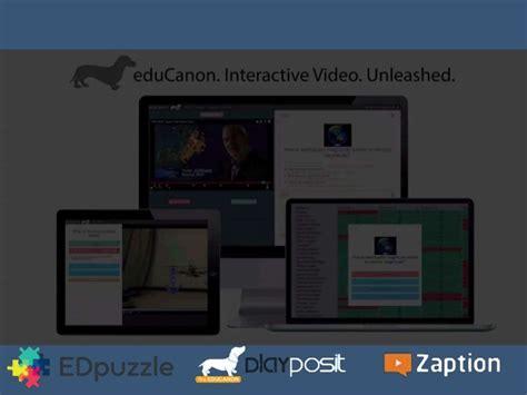 edmodo zaption interactive video classroom options