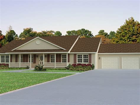 ranch home plans with front porch front porch plans ranch house