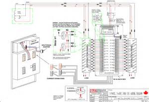 1 phase 3 wire 240v 2el wiring diagram