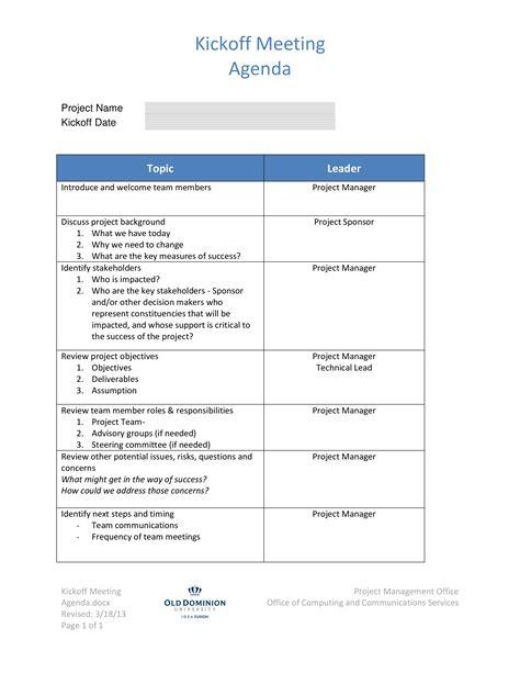 simple project agenda template free word pdf documents xymetri com