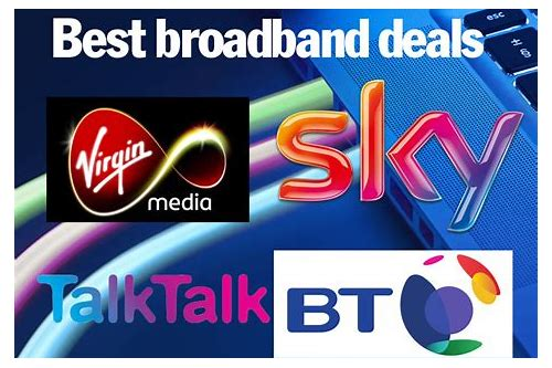 broadband and line rental deals uk