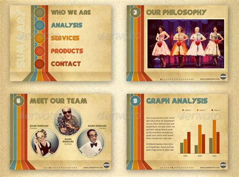 template ppt vintage free 24 beautiful vintage powerpoint templates desiznworld