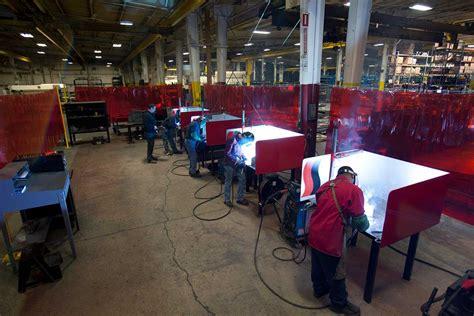 welding capabilities and equipment steel